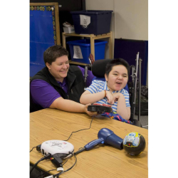 PowerLink 4 (North America) with Big Beamer Transmitter | Accessibility Device | Disability Adapted | People with Disabilities | Assistive Technology | Disability Service | Motor Impairments