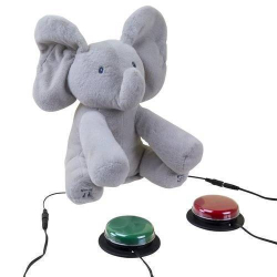 Switch Adapted Flappy The Elephant | Accessibility Device | Disability Adapted | People with Disabilities | Assistive Technology | Disability Service | Motor Impairments | 30000033