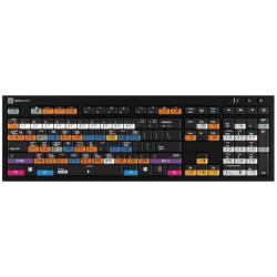Logickeyboard Blender 3D - PC Nero Slim Line Keyboard | English Keyboard | Computer Keyboard | Typing | LKB-BLEN-BJPU-US