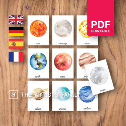 Clima Espanol - Spanish | Downloadable Prints | Acuarela | Montessori | Ni¤os | Posters Educativos | Aprender a Pintar | Guarder¡a | Impresos Descargables | Espa¤ol - Spanish