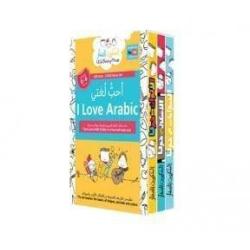 I Love Arabic 3 DVD Box Set | Animals Around Us, Colors Around Us, Shapes Around Us | Arabic - العربية  Language  | Physical CD Format