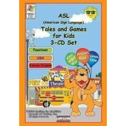 ASL Tales and Games for Kids 3-CD Set   Accessible Product   Special Education    Physical CD Format