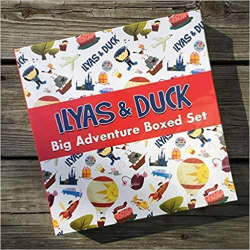 Ilyas and Duck - Big Adventure Boxed Set | Search for Allah; Fantastic Festival of Eid-al-Fitr; A Zakat Tale - A Story About Giving | Book for Kids | Arabic - العربية | Story Book | Teach Kids Arabic - العربية