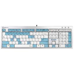 Trio Enterprise Attendant Telecom Keyboard | Compatible with Windows | International Keyboards | English Keyboard | Computer Keyboard | Typing