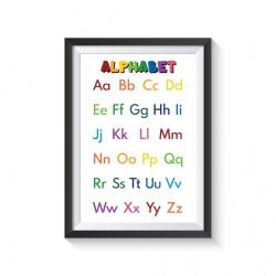 ALPHABET for kids   Educational poster   Preschool learning   Learn ALPHABET   Montessori   Classroom Poster   Printable   Print   Digital download   Smart Owl Prints