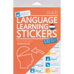 Dutch Language Learning Stickers | Dutch - Nederlands Stickers | Language Learning Stickers | Dutch words | Stickers for Home or Office | Dutch - Nederlands