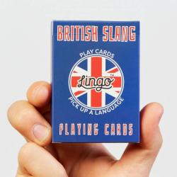 Learn British English Slang | Original Paper Packing | British Slang Travel Phrases | British Flag Cards | Language Learning Game Set | Useful British English Slang Phrases | Language Learning Market