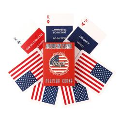 American English Slang Playing Cards | Original Paper Packing | American Flag Playing Cards | American English Travel Phrases | Game Set | Useful American Slang Phrases | Language Learning Market