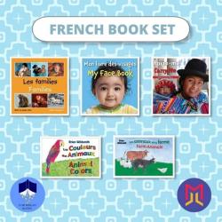 French Français - English Book Bundles  Set of Bilingual Books for Toddlers  French Books  Livres pour enfants  Raise Bilingual Kids  Teach Kids French Français