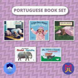 Portuguese Português - English Book Bundles  Set of Bilingual Books for Toddlers  Portuguese Books  Livros para crianças  Raise Bilingual Kids  Teach Kids Portuguese Português