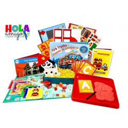 Spanish Activity Pack   Fire Truck - Early Learner Box   Spanish for Kids   Early Learning Activity Pack   Spanish Vocabulary   Bilingual Education   Language Learning Market