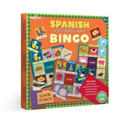 Spanish Bingo | Game for Kids | Learn Spanish Vocabulary | Spanish Learning Bingo Game | Loteria