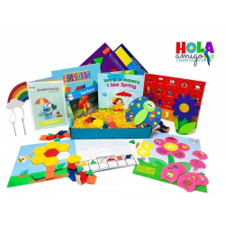 Spanish Activity Pack | Spring / La Primavera - Early Learner Box | Spanish for Kids | Early Learning Activity Pack | Bilingual Education | Language Learning Market