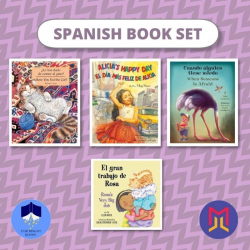 Spanish Español - English Book Bundles  Set 1 of Bilingual Picture Books for Toddlers  Spanish Books  Libros para niños en Español  Raise Bilingual Kids  Teach Kids Spanish - Español