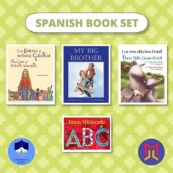 Spanish Español - English Book Bundles  Set of Bilingual Books for Toddlers  Picture Books  Spanish Books  Libros para niños en Español   Teach Kids Spanish - Español