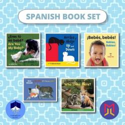 Spanish Español - English Book Bundles | Set of Bilingual Books for Toddlers | Spanish Books | Libros para niños en Español | Raise Bilingual Kids | Teach Kids Spanish - Español English