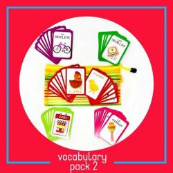 Spanish Vocabulary Fash Cards | Card Pack #2 | Spanish for Kids | Bilingual Education | Farm Animals | Teach Kids Spanish - Español | Language Learning Market