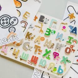 Ukrainian Alphabet Puzzle | Teach Kids Ukrainian Alphabet | Wooden Puzzle | Learn Ukrainian Alphabet LettersUkrainian Alphabet Puzzle | Teach Kids Ukrainian Alphabet | Wooden Puzzle | Learn Ukrainian Alphabet Letters | Language Learning Market