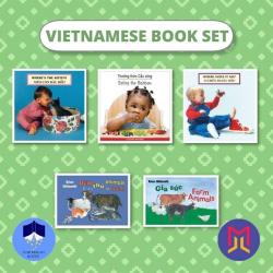 Vietnamese Tiếng Việt - English Book Bundles  Set of Bilingual Books for Toddlers  Vietnamese Books  Raise Bilingual Kids  Teach Kids Vietnamese Tiếng Việt