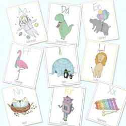 German English Alphabet Flashcards | Digital Download | Bilingual Alphabet Cards | German for Kids | Educational Games | ABC Flash Cards | Language Learning Market