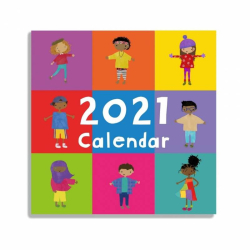 The Book Of Cultures 2021 Calendar | Children's Calendar | Diversity and Culture | Animated Calendar | Multicultural | Monthly Calendar in English