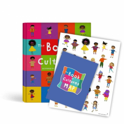 The Book Of Cultures + Stickers & A Map! | Children's Book | Stickers | Cultural Map | Diversity and Culture | Adventure book for Kids | Stories in English | Language Learning Market