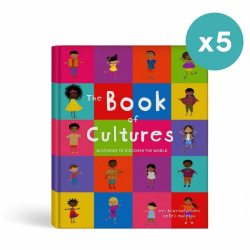 The Book of Cultures | 5 Set of Books | Multicultural Children's Book | Diversity and Culture | Picture Book | Adventure book for Kids | Stories in English | Language Learning Market