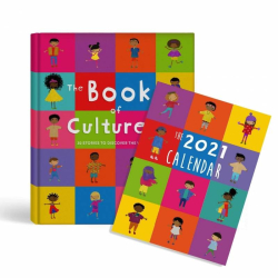 The Book of Cultures & the 2021 Calendar | Children's Book | Diversity and Culture | Picture Book | Multicultural Calendar | Adventure Book for Kids | Language Learning Market
