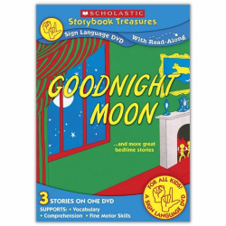 ASL Bed Time Stories | Goodnight Moon | Bilingual Music, Voice & American Sign Language (ASL)| Popular Children's Books | DVD Format | Special Education | Language Learning Market