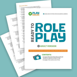 Role Playing Game - Adult Version | Printable Card Game | ESL Activity for Adults | Practice English Vocabulary | Language Learning Market