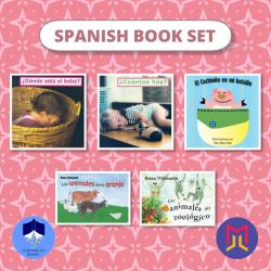 Spanish Español Book Bundles | Set 2 of Spanish Picture Books for Toddlers | Spanish Books | Libros para niños en Español | Teach Kids Spanish - Español