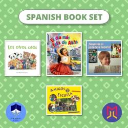 Spanish Español Book Bundles | Set 3 of Spanish Picture Books for Toddlers | Spanish Books | Libros para niños en Español | Teach Kids Spanish | Language Learning Market