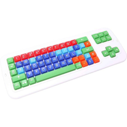 German Keyboard | Clevy Kids German Keyboard | International Keyboards Large Keys | Uppercase letters | Kids Keyboarding | Teach Kids Typing