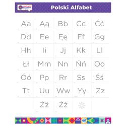 "POLISH Alphabet Poster | Polski | Learn Polish Letters | Polish ABC Poster | Printable | Preschool | Educational | Homeschool or Classroom Decoration | 16"" x 20"" | 8.5"" x 11"""
