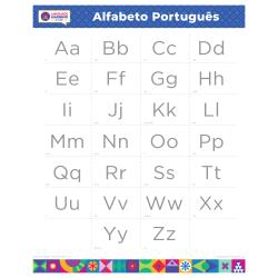 "PORTUGUESE Alphabet Poster | Português | Learn Portuguese Letters | Portuguese ABCs | Printable | Preschool | Educational | Homeschool or Classroom Decoration | 16"" x 20"" | 8.5"" x 11"""