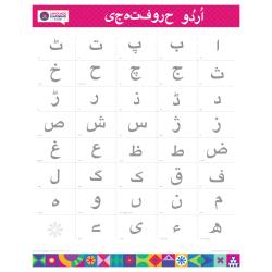 "URDU Alphabet Poster | اردو | Learn Urdu Letters | Urdu Characters | Printable | Preschool | Educational | Homeschool or Classroom Decoration | 16"" x 20"" | 8.5"" x 11"""
