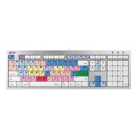 Logickeyboard AVID Media Composer | Mac ALBA Keyboard | English Keyboard | Computer Keyboard | Typing