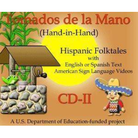 MSL Mexican Sign Language Tomados de la Mano CD-II   Hispanic Stories of Celebration   Windows Only   Accessible Product   Special Education    Physical CD Format