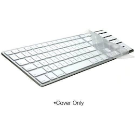 LogicSkin Transparent Keyboard Cover | Compatible with Apple | Numeric Keypad | Silicone Keyboard Cover | Computer Keyboard Accessories | LS-M89C-US