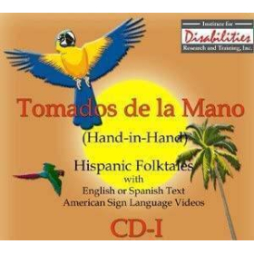 """MSL Mexican Sign Language """"Tomados de la Mano"""" Hand in hand CD-I   Hispanic Stories of Celebration   Windows Only   Accessible Product   Special Education    Physical CD Format"""