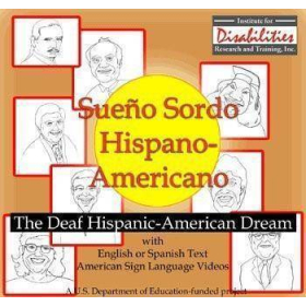MSL Mexican Sign Language - Sueño Sordo   Hispanic Stories of Celebration   Windows Only   Accessible Product   Special Education    Physical CD Format