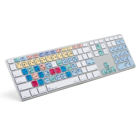 LogicKeyboard Steinberg Cubase/Nuendo Keyboard | Compatible with MacOS | International Keyboards | English Keyboard | Computer Keyboard | Typing | LKBU-CBASE-AM89-US