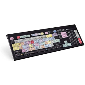 Logickeyboard Adobe Photoshop CC | Compatible with Windows | International Keyboards | English Keyboard | Computer Keyboard | Typing | LKBU-PHOTOCC-APBH-US