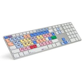 LogicKeyboard Avid Composer Ultra Thin Keyboard   Aluminum Keyboard   International Keyboards Large Keys   English Keyboard   Computer Keyboard   Typing