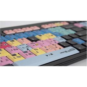 Sonar - PC Nero Slim Line Keyboard    Compatible with Windows   International Keyboards   English Keyboard   Computer Keyboard   Typing