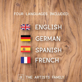 FOOD MEAL DISH   Culinary Flash Cards   Watercolor   Montessori   Educational Resource   Homeschooling   PDF   German Spanish French English   Multilingual   Kids Art