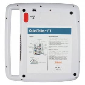 QuickTalker FT 12  | Accessibility Device | Disability Adapted | People with Disabilities | Assistive Technology | Disability Service | Motor Impairments | 10000037