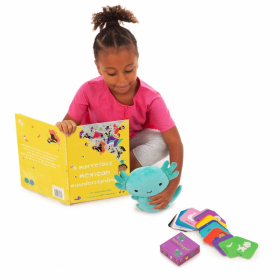 Mexico Language & Culture Gift Set: 1. Children's Book 2. Spanish - English Flashcards  3. Stuffed Animal   Spanish - Español Bilingual Memory Cards   Toys for Kids   Mexican Culture   Language Learning Market