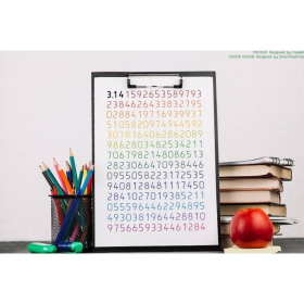 PI NUMBER poster   Educational poster   Math   Rainbow colors   Classroom Wall Art Poster   Printable   Geometry poster   Digital download