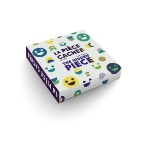 Bilingual French English Game | Hidden Piece | Pièce cachée | Puzzle Game | Language Learning | Multilingual Game | Le jeu | The Game | Learn English & French | Jeux Face4